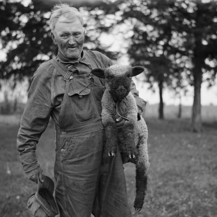Farmer of Franklin County, Kansas. 1936